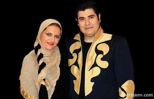 سالار عقیلی و همسرش