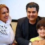 سفر خارجی سالار عقیلی همراه همسر و پسرش به روسیه