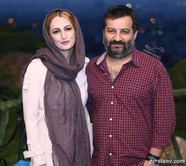 مهراب قاسم خانی و همسرش