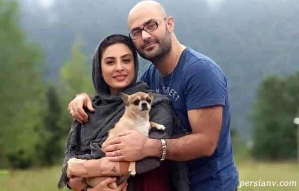 همخوانی حدیثه تهرانی و همسرش کیان با آهنگ زیبای رضا صادقی