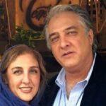 عکس ایرج نوذری و دخترش دلربا در اکران فیلم لاله