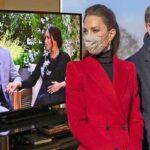 کیت میدلتون و همسرش ویلیام پس از مصاحبه جنجالی مگان و هری