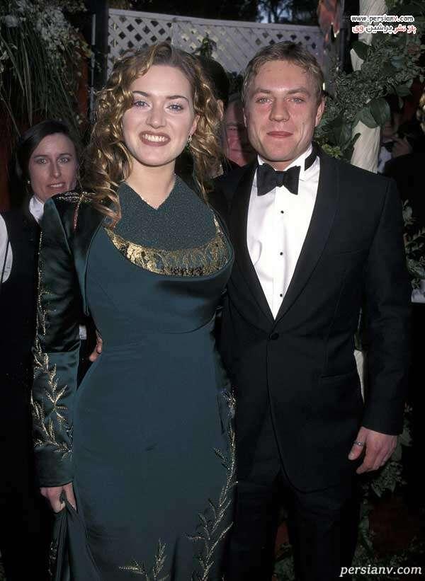 وینسلت و همسر اولش