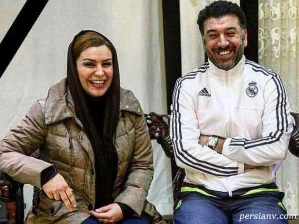 جشن تولد ماهچهره خلیلی مرحوم در کنار همسرش و زنده یاد علی انصاریان