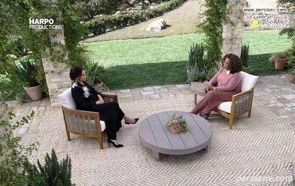 مصاحبه مگان و هری با اپرا