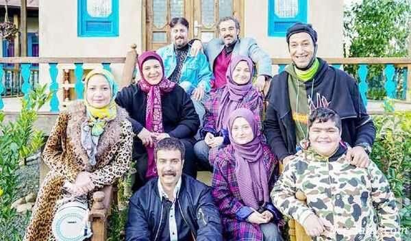 تصویر جدید از بازیگران در قسمت پایانی پایتخت۶