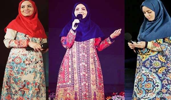 انتخاب لباس برگزیده مبینا نصیری