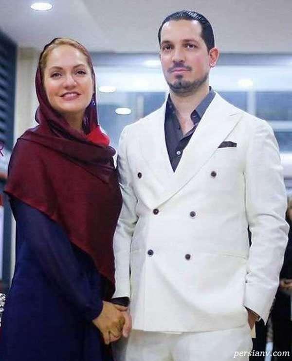 مهناز افشار و همسر سابق اش