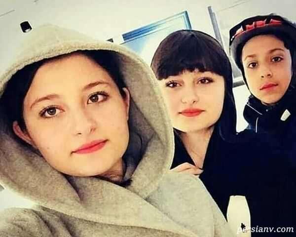 عکس باحجاب سارا و نیکا فرقانی دوقلوهای پایتخت