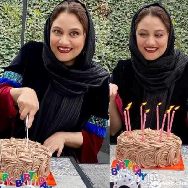 عکس جشن تولد شبنم مقدمی