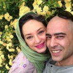 سحر ولدبیگی در کنار همسرش نیما فلاح و پدرش در چهارشنبه سوری