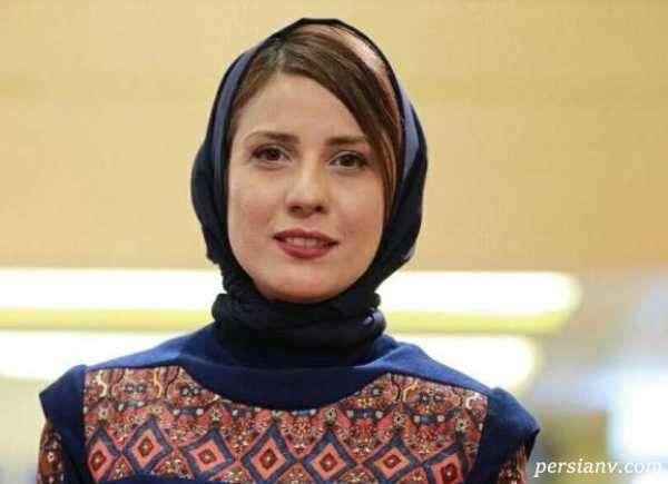 استایل جدید سارا بهرامی در کنار گلاره عباسی در محل کار