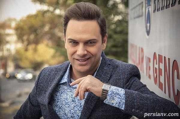 تیپ خاص شهروز ابراهیمی بازیگر معروف در خارج از کشور