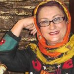سفر مریم امیرجلالی بازیگر معروف به باغ فین کاشان
