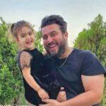 چهارشنبه سوری محسن کیایی و دخترش رز