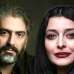 علیرضا افکاری (همسر ساره بیات) و فرزندانش در کنار هم