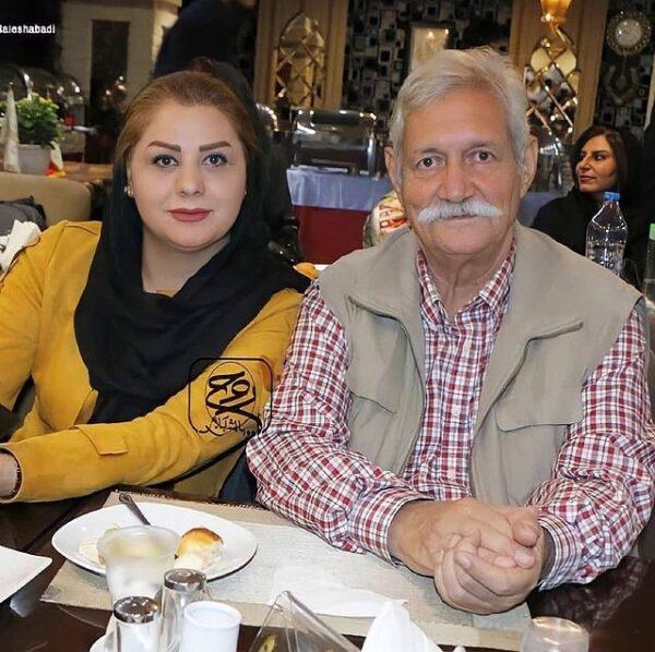 آتش تقی پور و همسر دومش