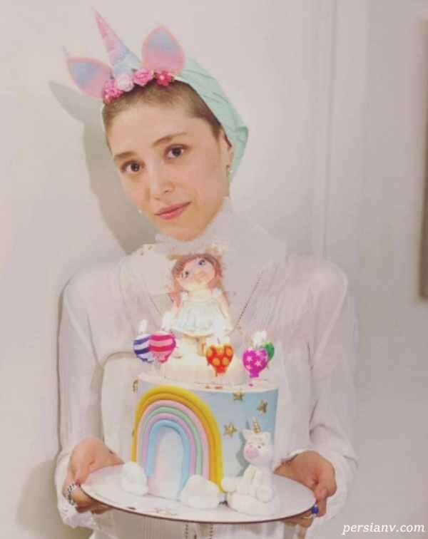 تولد فرشته حسینی