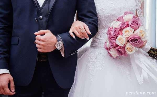 عروس و داماد وفادار ۳۲ سال برای ازدواج با هم صبر کردند
