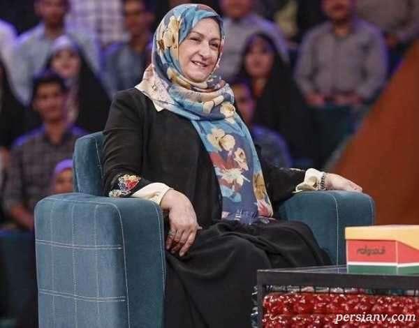 مریم امیرجلالی بازیگر بر سر مزار برادرش