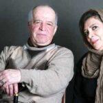هفتمین روز فوت محسن قاضی مرادی با حضور مرجانه گلچین در قطعه هنرمندان