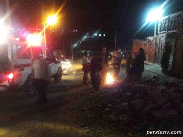 فیلمی از لحظه وقوع زلزله در مریوان