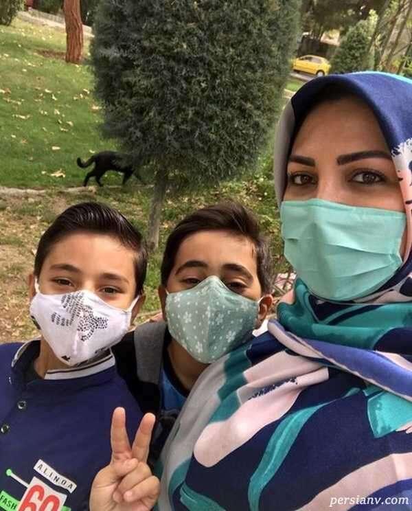 مجری شبکه خبر و فرزندانش