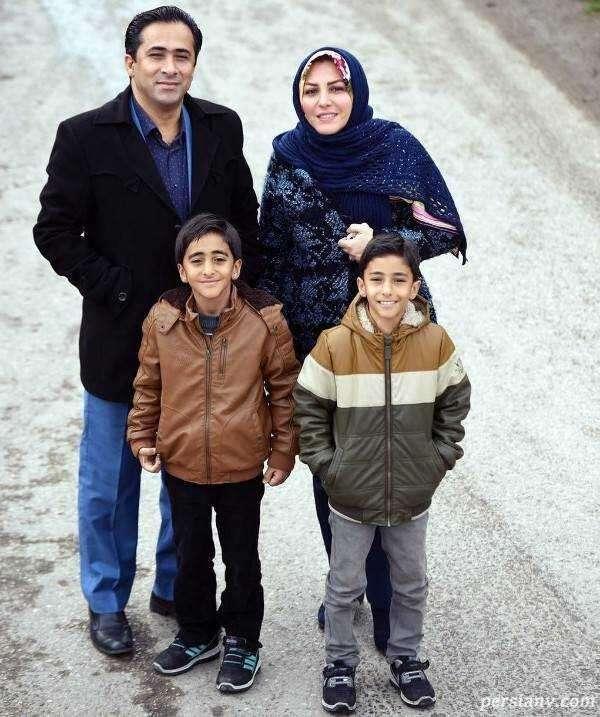 داوود عابدی و خانواده اش