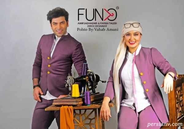 مدل لباس فریبا طالبی