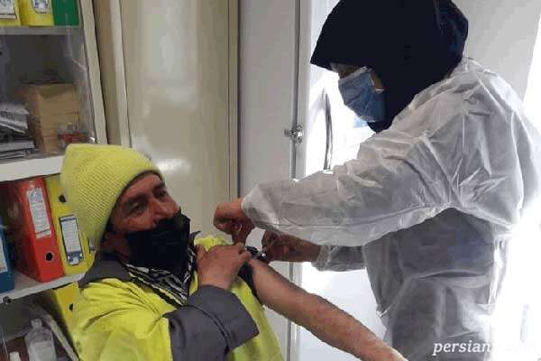تزریق واکسن به پاکبانان