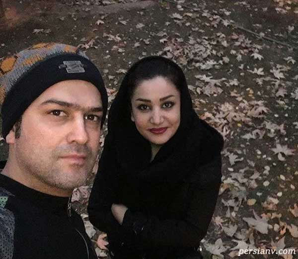 حامد آهنگی و همسرش