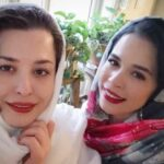 تبریک تولد مهراوه شریفی نیا توسط خواهرش به سبک متفاوت