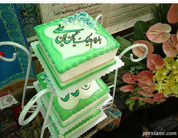 کیک میلاد امام حسن مجتبی