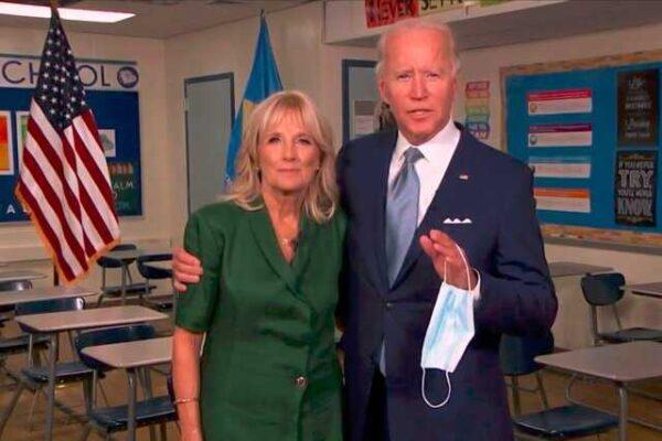 رئیس جمهور آمریکا و همسرش