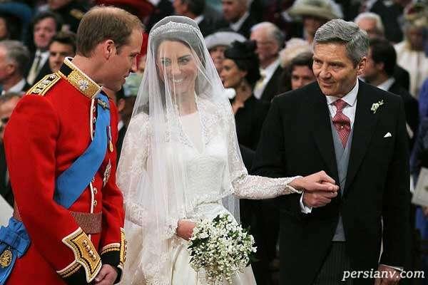 کیت میدلتون و پرنس ویلیام در دهمین سالگرد ازدواجشان