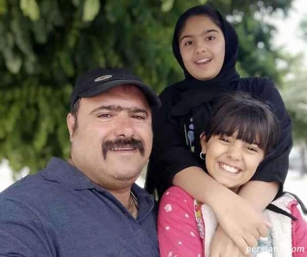 بازیگر نقش سلمان و دخترانش