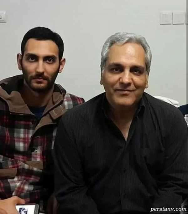 مجری معروف و پسرش