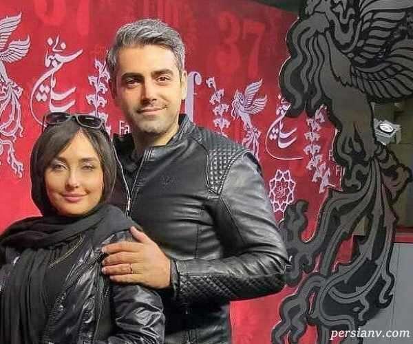 بازیگر جوان و همسرش