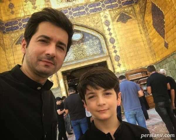 نجم الدین شریعتی و پسرش