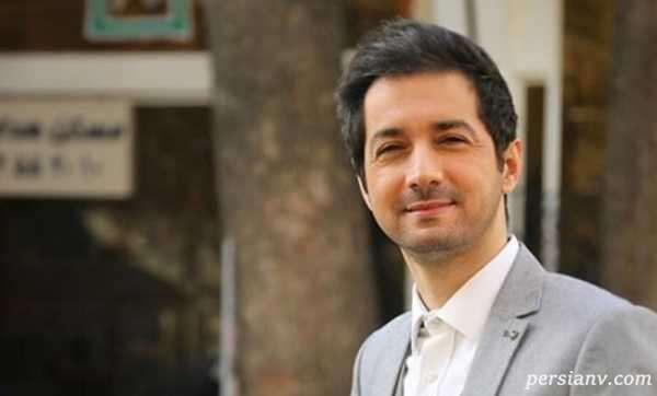 نجم الدین شریعتی مجری تلویزیون و پسرش در حرم امام علی نجف اشرف