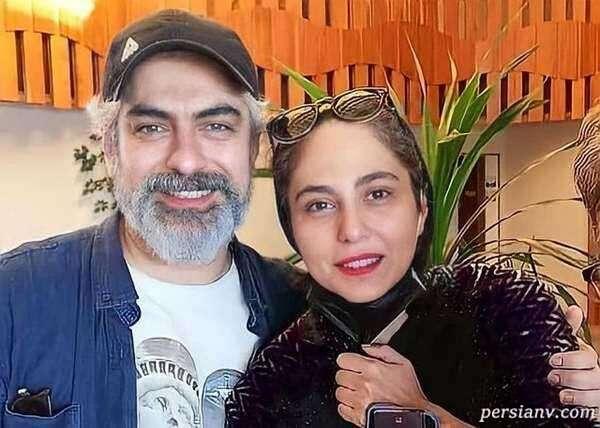 """گریم جدید مهدی پاکدل و همسرش در نمایی از فیلم """"آمین"""""""