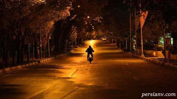 قوانین ترددهای شبانه