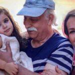 عکس خانوادگی محمود پاک نیت در کنار همسر , پسر و عروسش در نوروز