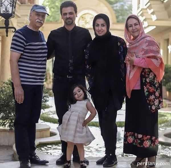 عکس خانوادگی محمود پاک نیت