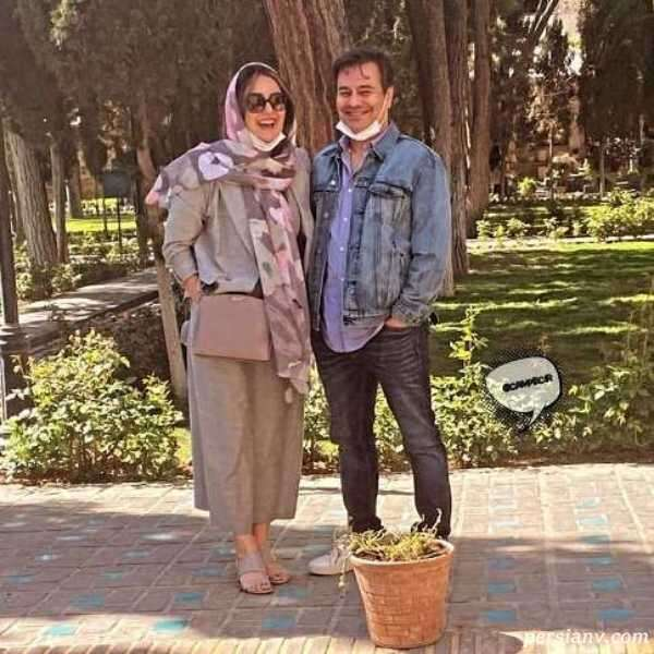 عکس پیمان قاسم خانی و همسرش