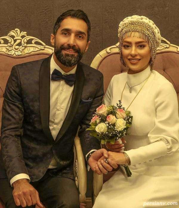 مراسم ازدواج زوج بازیگر