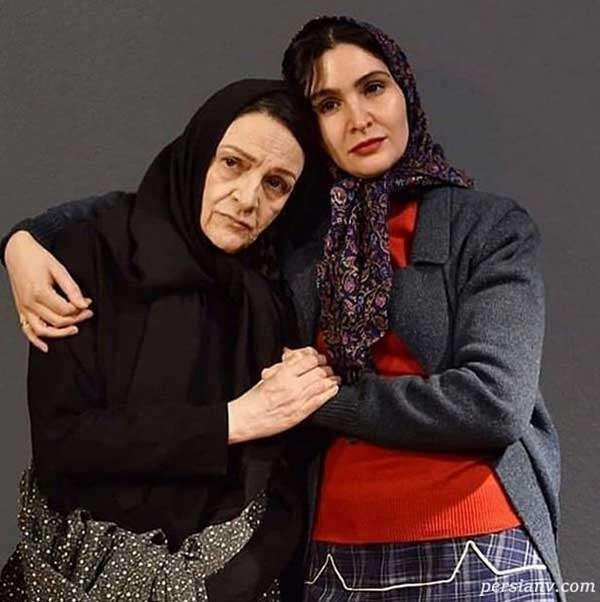 نورا هاشمی و مادرش گلاب آدینه