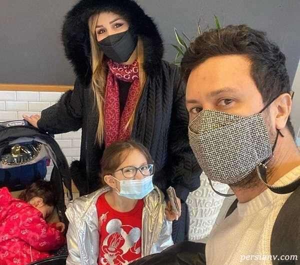 عکس جدید خانواده شاهرخ استخری