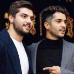 سینا مهراد و ساعد سهیلی برادران سینمای ایران در کنار خواهرشان