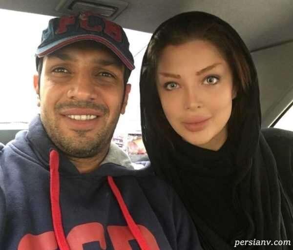 فوتبالیست سابق و همسرش